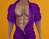 Purple Open D Shirt 2 M