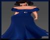 [LM]Stunner Gown NavyBlu