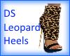 DS Leopard heels