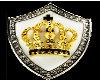King Crown Belt Buckle