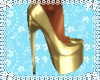 *T* Midnight Gold Heels