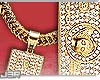 ® Gold Bill Necklace