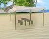 :3 Beach Tent & Table