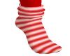Peppermint stripe socks