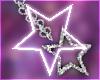 u. star earrings