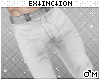 #jeans: white