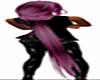 pink black Yuuasa Hair