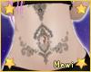 Oriental Belly Tattoo
