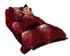Bed blanket pose