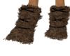 Brown Fur Bond Leg Warms