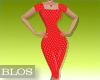 BLOS Red Polka Dot