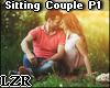 Sitting Couple Pose 1
