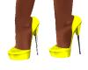 Baby Yellow Heels