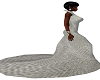 [MzL]White Crochet Gown