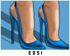 Celebrity Blue Heels e