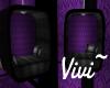 Vintage Purple VIP Chair