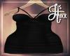 :Black Mini Dress BBW