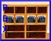 Dresser with Suits