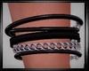 Black  Bracelet R Male
