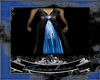 Custom Black&Blue Gown
