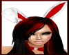 [LM}F Bunny Ears-Red