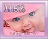 Kids head scaler 115%