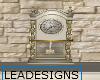 Lady Den Mantle Clock