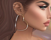 J |Casual gols Earrings