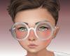 Kids silver glasses