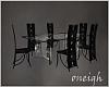 Azeziina's Black Dining