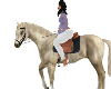 LAKE HORSE OFFWHITE ANIM