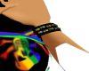 Rainbow wristband (L)