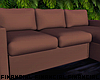 Copper Sectional Couch