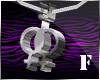 § Lesbian Symbol Ncklace