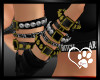 Custom Gld Black Armband