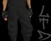 cold black pants