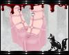 FOX pink heels