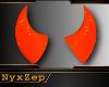 Orange Devil Horns
