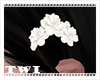 Kawaii Hair Flower White