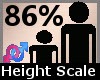 Height Scaler 86% F A