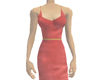 Silken Red Dress
