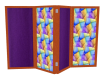 Purple & glass Rm Div