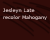Jesleyn Mahogany Recolor