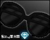 =D shutter shades: black