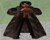 Unisex Brown Mink Coat