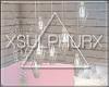 xSx Blush Hanging Lights