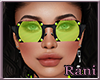 Neon Babe Glasses Lime