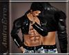 AE_Leather short Jacket