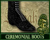 Ceremonial Boots Silver