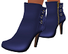 Blue Mina Ankle Boots